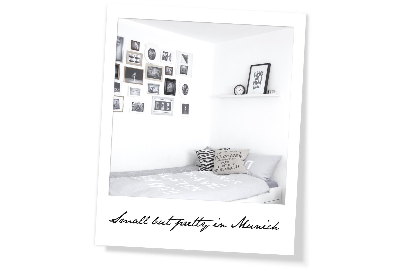 Homestory München Polaroid Bild