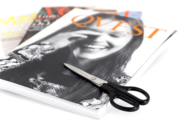 Mode- und Einrichtungs-Zeitschriften