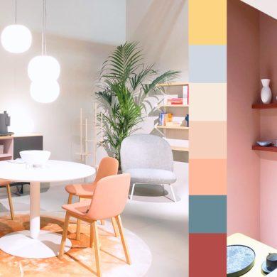 Einrichtungsinspirationen mit kräftigen Farben von der IMM Cologne